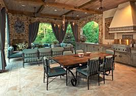 concrete patio dining table outdoor farm table patio traditional with outdoor dining table stone