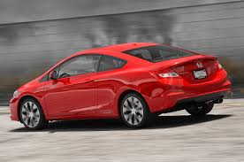 used honda civic 2013 2013 honda civic si test motor trend