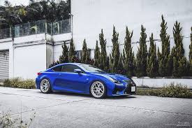 blue lexus lexus rc f brixton forged wheels