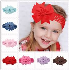 headbands with bows esun fd01 kids baby girl children hair headbands with bows knot