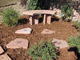 memorial ideas memorial garden ideas bench outdoor furniture memorial garden