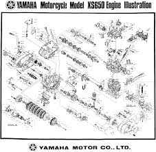 xs650 wiring diagram without points 1978 yamaha xs650 wiring
