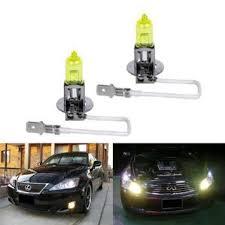 buy ijdmtoy 3000k super yellow h3 halogen fog light bulbs in cheap
