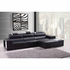 modern bonded leather sectional sofa casa polaris mini contemporary bonded leather sectional sofa