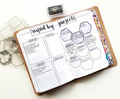 august bullet journal set up travelers notebook 3 projects