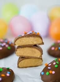 easter peanut butter eggs peanut butter eggs brown eyed baker