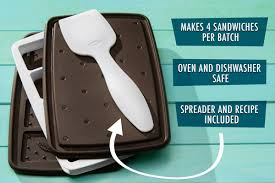 Sweet Spot Ice Cream Sandwich Maker Make your own ice cream sandwiches