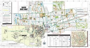 davis map davis bike map city of davis ca