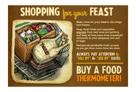 thanksgiving food safety tips paperblog