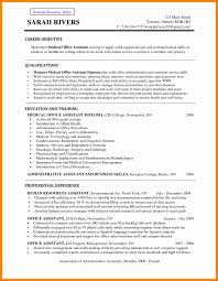 Resume For Medical Assistant Student Medical Assistant Resume Objective Cbshow Co