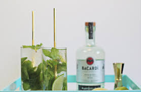 mojito cocktail bottle how to make bacardi cardamom mojitos and original daiquiris