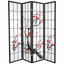 Oriental Room Dividers by 6 Ft Black 4 Panel Dancing Ladies Room Divider Lcq Scr Lgen The