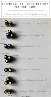 essential oil combinations for the home oil doterra and