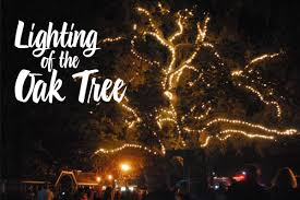 vacaville tree lighting 2017 lighting of the old oak tree in danville your town monthly
