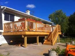 raised ranch kitchen ideas sparkles and crafts raised ranch deck sparkles and crafts