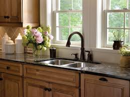 platinum oil rubbed bronze faucet kitchen centerset two handle