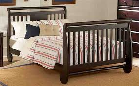 Crib Converter Baby Crib Conversion Kit Sparrow Toddler Bed In Walnut And Luxury
