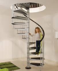 order the civic spiral staircase in grey at 140cm diameter
