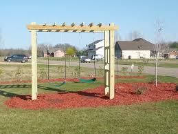 scott u0027s idea for the children u0027s swing set to build pinterest