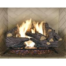 electric fireplace logs lowes birch with candles walmart