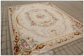 Free Area Rugs Free Ship 8x10 Pastel Colors Aubusson Area Rug Wool
