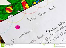 template for santa letter papa noel letter template vector illustration stock vector image child letter to santa claus papa noel in french stock photos