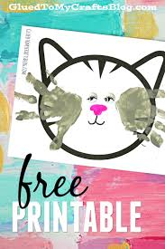 handprint cat whiskers free printable cat whiskers kid and