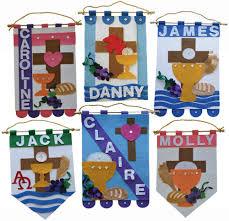 first communion banner kit boys ideas pinterest communion