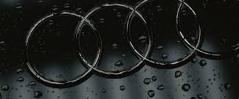 audi logo jay tailor audi logo with water drops