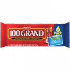 where can i buy 100 grand candy bars 100 grand snack size candy bars 4 5 oz 6 pack
