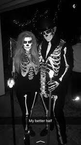 Halloween Skeleton Costume Homemade Skeleton Costume Double Belly Button Piercing Ed Hardy