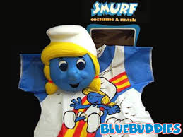 Smurf Halloween Costume Smurf Halloween Costumes Smurfette Mask Smurfette Costume Mask