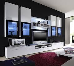 Wohnzimmer Ohne Wohnwand Moderne Wohnwand Vitrine Anbauwand Wohnzimmer Möbel Weiß Amazon