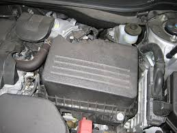 toyota camry 2007 engine camry engine air filter element replacement guide 001