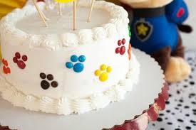 paw patrol party cake diy cake 10 minutes