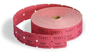 raffle tickets raffle tickets 2x2 roll drawing coupon