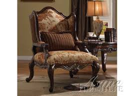 Brown Accent Chair Remington Accent Chair In Brown Cherry Finish By Acme 50157
