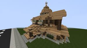House With Tower Rustic House With Small Tower Creative Mode Minecraft Java