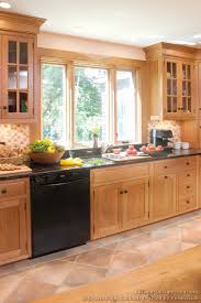Kitchen Cabinets Light Wood Kitchen Kitchen Cabinets Traditional Light Wood Cp B Shaker Sink