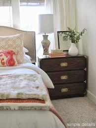 simple details one room challenge a craigslist bedroom reveal