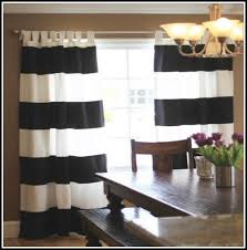 Brown And White Striped Curtains Beautiful Black And White Stripe Curtains And 33 Best 2 Decor