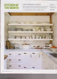 Kitchen Open Shelves Ideas Copious White Kitchen Inspiration With White Three Tier Open