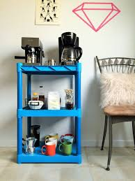 uncategories office coffee station table in home coffee bar
