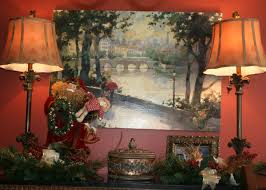 Decorating A Credenza Christmas Decorating In The Dining Room Tempting Thyme