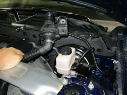 2005 mustang clutch how to install a ford racing high performance clutch fluid line on