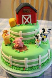 farm cake toppers farm animal cake ideas best birthday cakes on 1 cake ideas