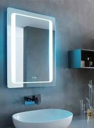 Backlit Mirror Bathroom by Tavistock Vapour Backlit Mirror With Magnifying Mirror And Heated