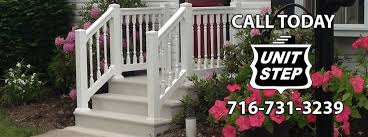 Handrail For Two Steps Unit Step Precast Step Sizes