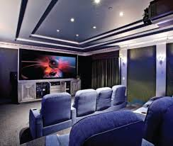 Home Theater Interior Design Beauteous Home Theater Interiors - Home theater interior design