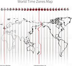 Africa Time Zone Map by World Time Zones Map Stock Vector Art 483890932 Istock